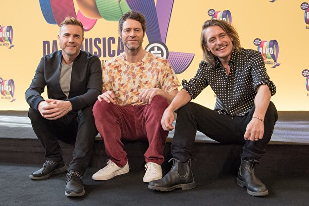 Take That: Gary Barlow, Howard Donald und Mark Owen