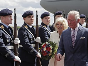 Charles and Camilla visit Berlin
