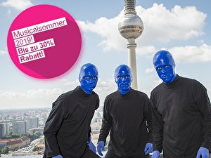 Musicalsommer «Blue Man Group»