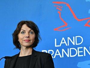 Brandenburgs Arbeitsministerin Susanna Karawanskij