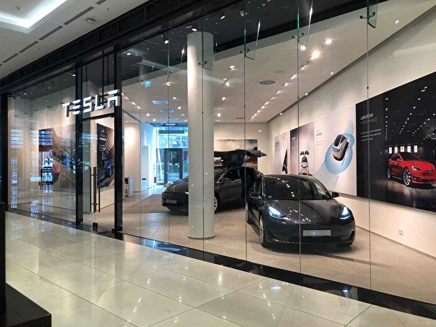 Tesla Showroom