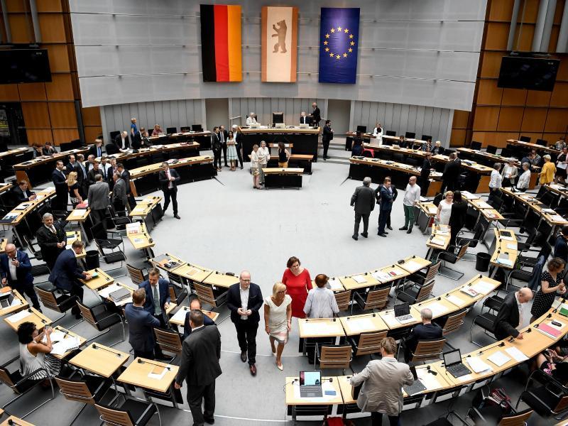 Abgeordnetenhaus erinnert an den Mauerfall