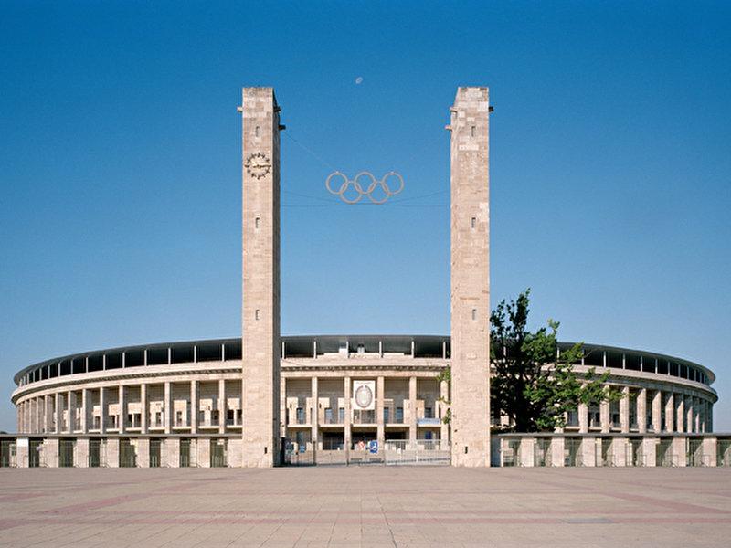 Parkplätze Olympiastadion