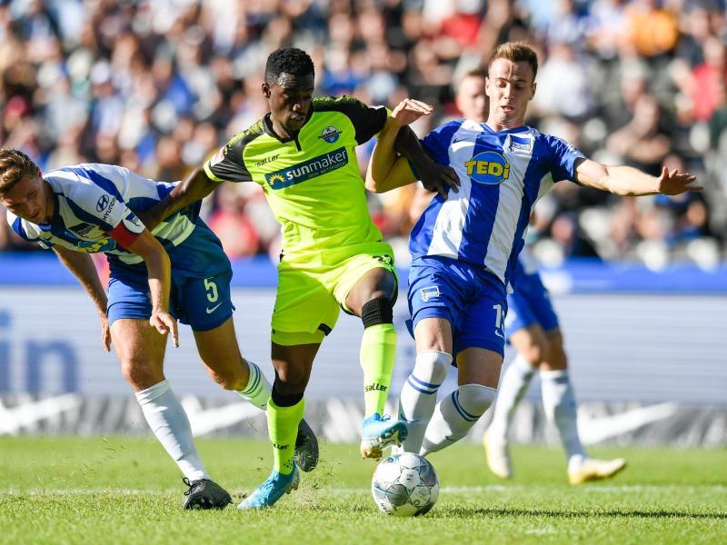 Hertha BSC feiert ersten Saisonsieg