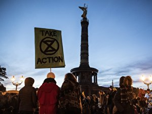 Extinction Rebellion im Tiergarten (3)