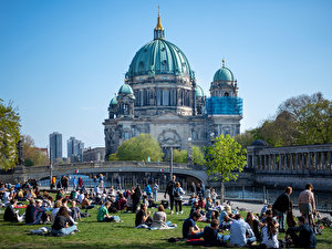 Sonniges Wetter in Berlin