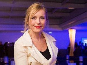 Die Schauspielerin Nadja Uhl