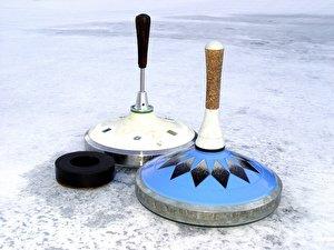 Eisstockschießen  (2)