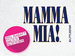 Mamma Mia Sonderaktion