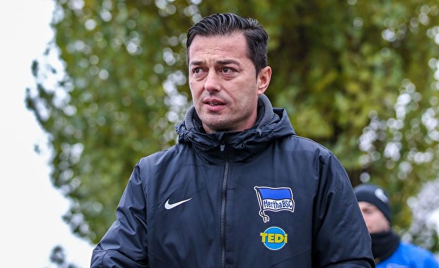 Hertha-Trainer Ante Covic