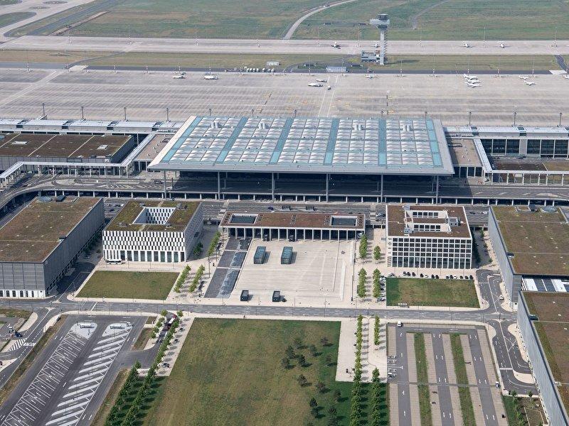 Berliner Flughafen Eröffnung