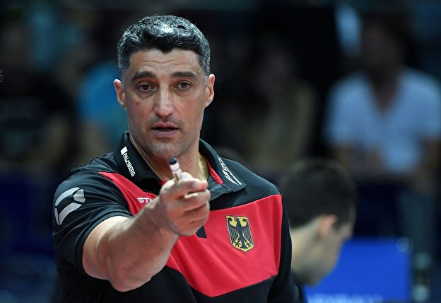 Volleyball-Trainer Andrea Giani
