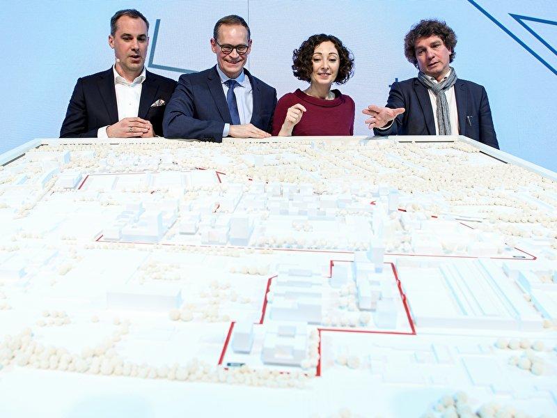Entwurf für Bauprojekt Siemensstadt 2.0 vorgestellt