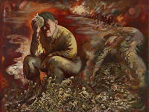 George Grosz «Cain or Hitler in Hell»