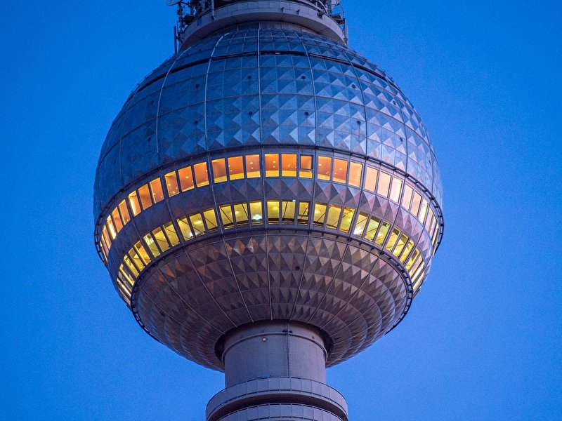 Berlin television tower opens again