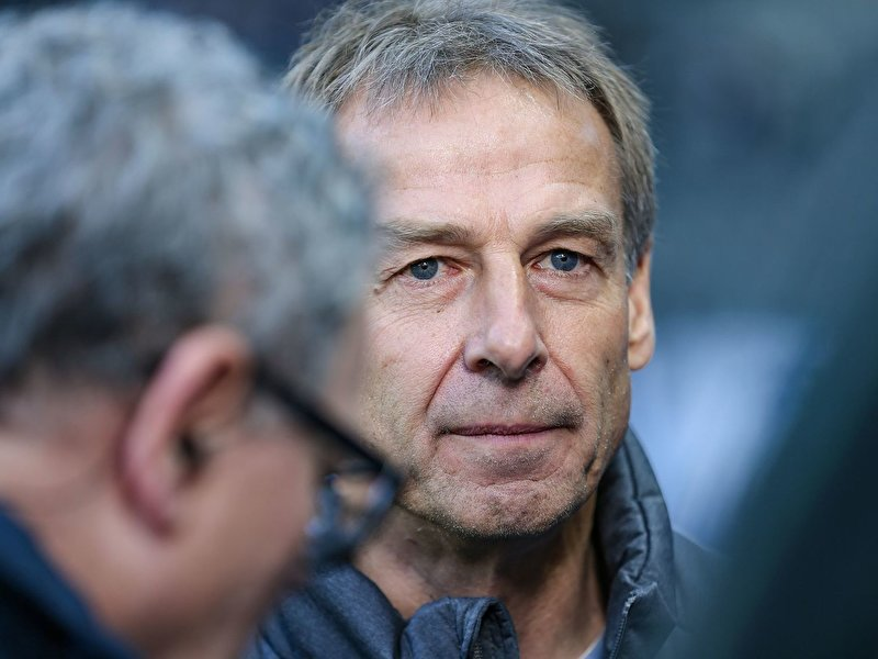 Klinsmann steps down as Hertha coach
