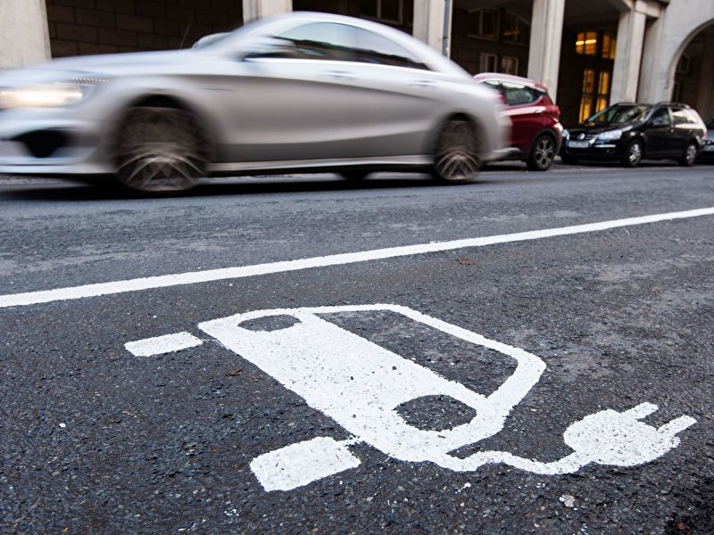 Berlin has the most charging points for e-cars