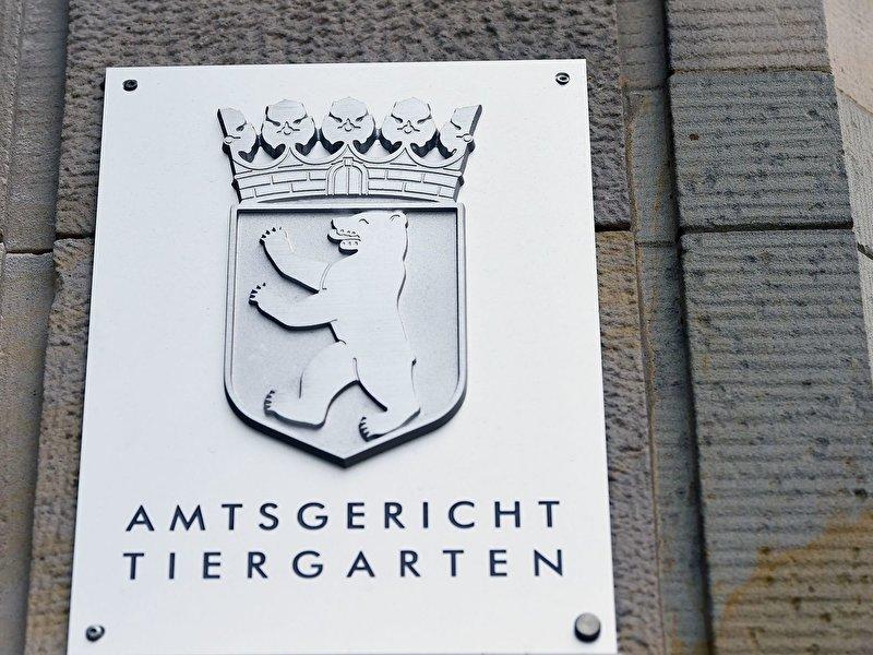 Amtsgericht Tiergarten Verhandlungen