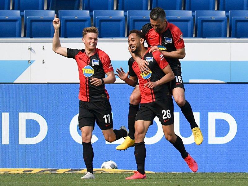 3:0 gegen Hoffenheim:Neuer Hertha-Glanz mit Labbadia