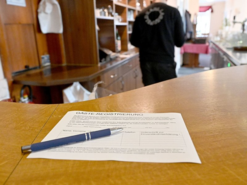 No guest data recorded: Fines up to 5000 Euro