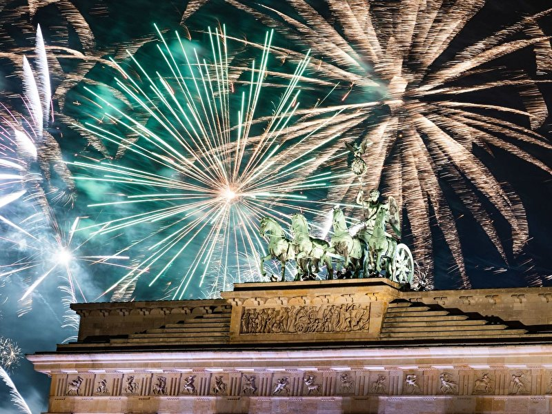 New Year's Eve celebration at Brandenburg Gate planned
