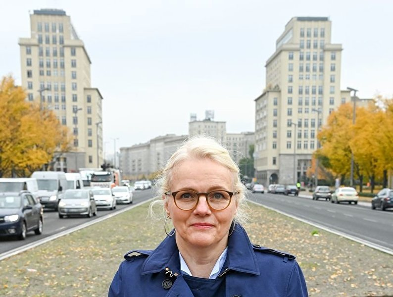 Redesigned Karl-Marx-Allee completed