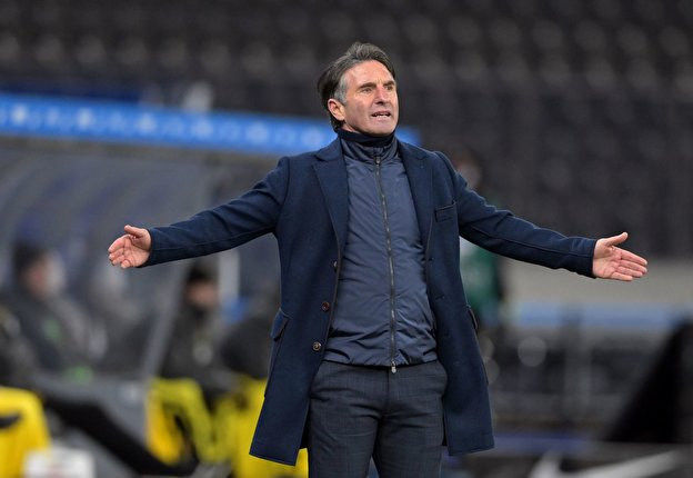Hertha-Trainer Bruno Labbadia