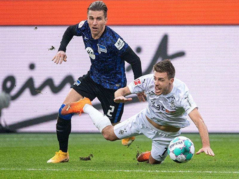 1:1: Hertha holt Punkt in Mönchengladbach