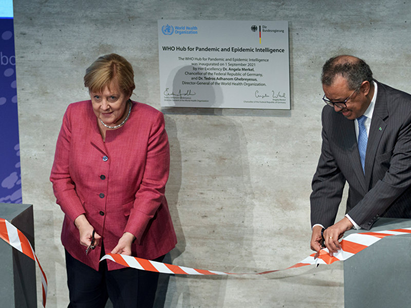 Global WHO Hub for Pandemic and Epidemic Intelligence starts in Berlin