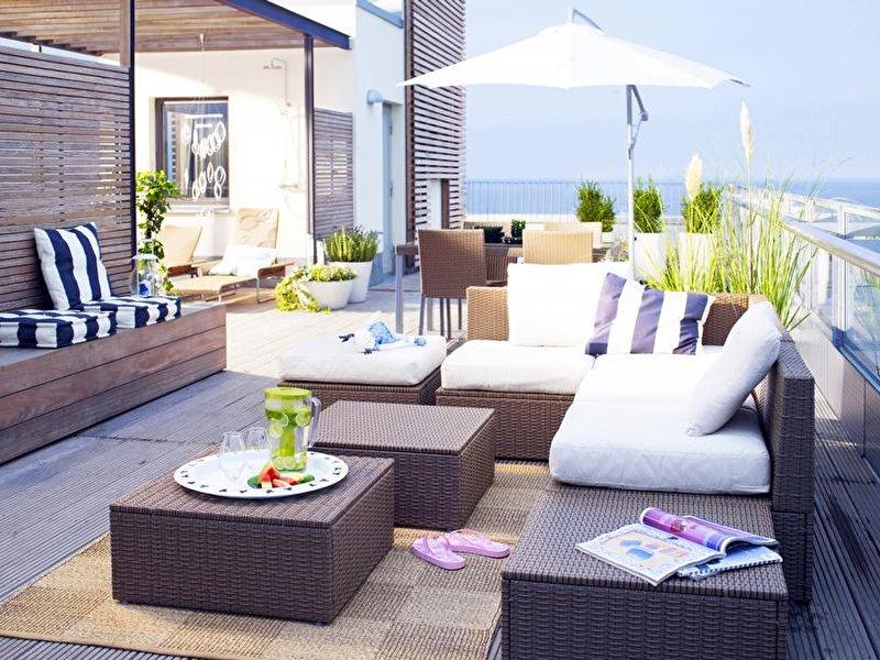 dachterrasse bauen planung vorschriften tipps. Black Bedroom Furniture Sets. Home Design Ideas