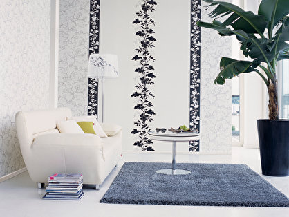 tapeten mit design r ume gestalten 4 papiertapetenkollektion garden party. Black Bedroom Furniture Sets. Home Design Ideas