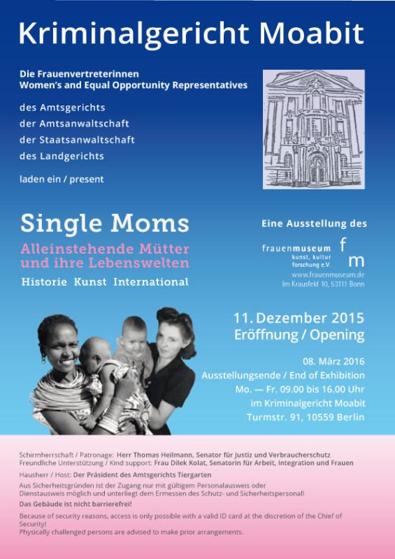 Single moms ausstellung bonn