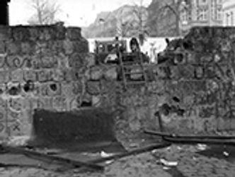Bildvergrößerung: Grenzübergang Wollankstraße am 12. November 1989