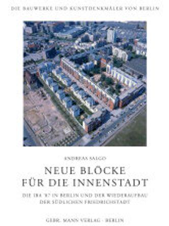 """Cover """"Neue Blöcke für die Innenstadt"""", Andreas Salgo, 2021"""
