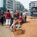 Enlarge photo: Open-Air-Ausstellung Checkpoint Charlie