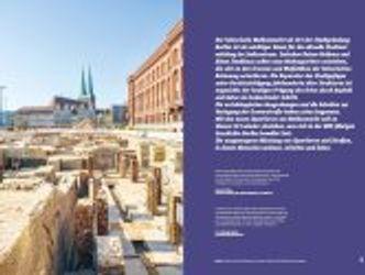 Bildvergrößerung: Innenseite aus der neuen Broschüre über die Grabung Molkenmarkt