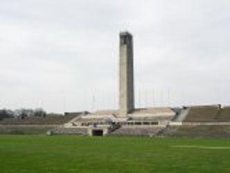 Olympiagelände Berlin - Maifeld und Glockenturm