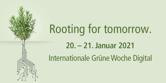 Banner Internationale Grüne Woche 2021 Digital