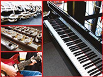 Bildvergrößerung: Instrumente, Collage