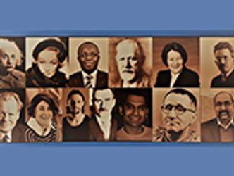 Bildvergrößerung: Persönlichkeiten aus Politik, Wissenschaft und Kunst