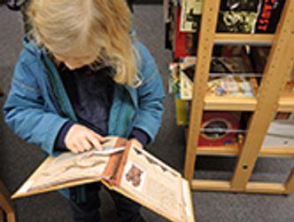 Bildvergrößerung: Kleiner Junge liest