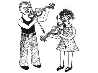 Bildvergrößerung: Fachgruppe Streichinstrumente