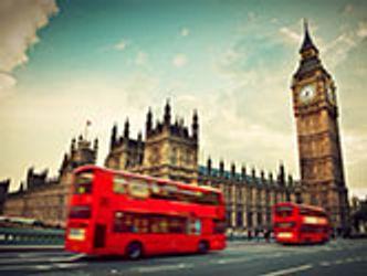 Bildvergrößerung: London, Bus und Big Ben