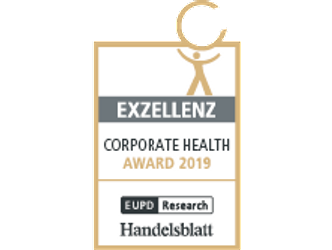 Corporate Health Award Siegel klein