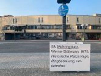 Bildvergrößerung: Düttmann-Ausstellung 2021 am Mehringplatz