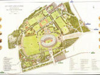 Bildvergrößerung: Überblicksplan Olympiagelände