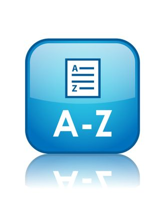 A-Z Liste als Button