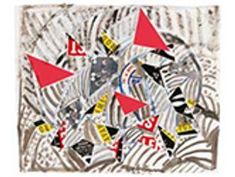 Bildvergrößerung: Drei rote Akzente · 1993