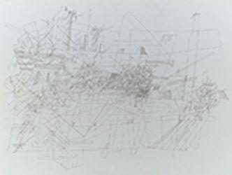 Bildvergrößerung: Jörg Janzer, Musikmaschinen II, 2011, Tusche auf Karton, 42 x 59,4 cm