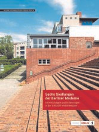 """Cover Neuerscheinung """"Sechs Siedlungen der Berliner Moderne"""""""